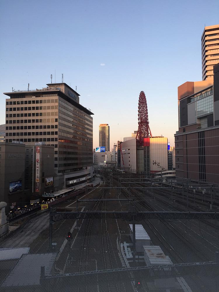 大阪 観覧車